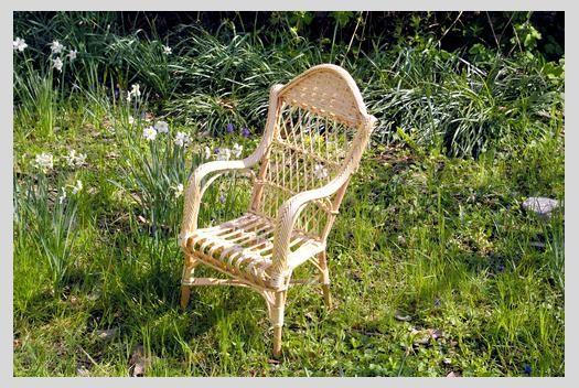 fauteuil enfant osier naturel haut. Black Bedroom Furniture Sets. Home Design Ideas